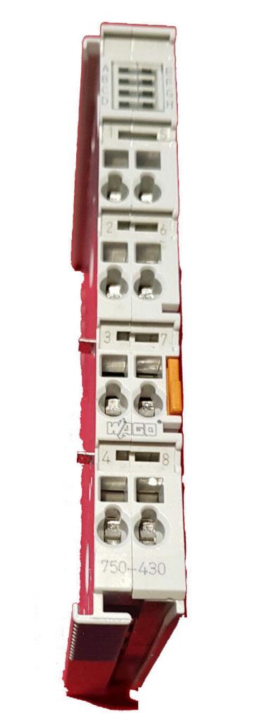 Wago used plc I/O material