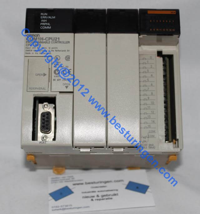 ONE USED Omron CQM1H-CPU21