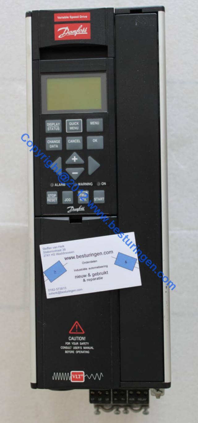 Vl5008 Used 175z0071 Danfoss Inverter 9 9kva Used