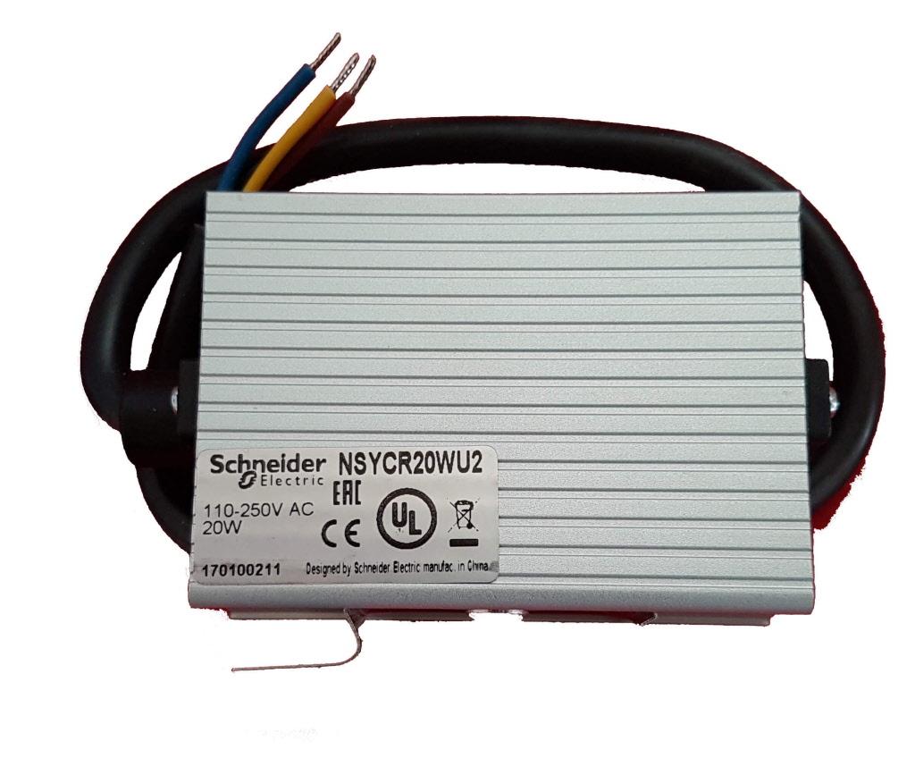 Kastverwarming 20 Watt Type Nsycr20wu2