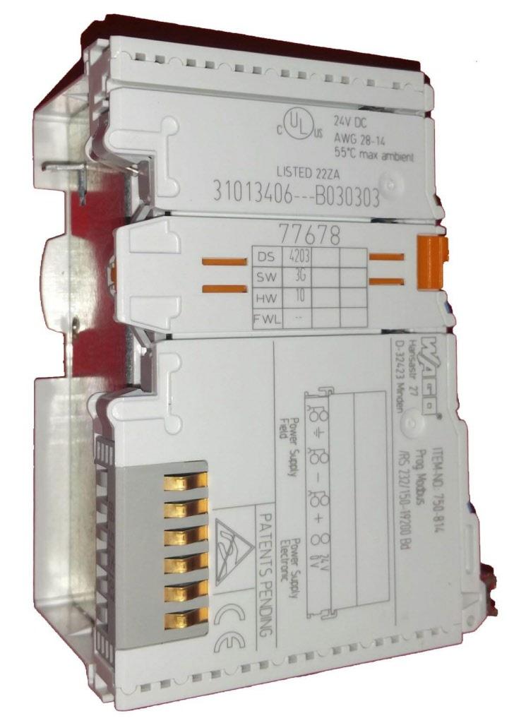 750-814 Wago used programmable modbus module