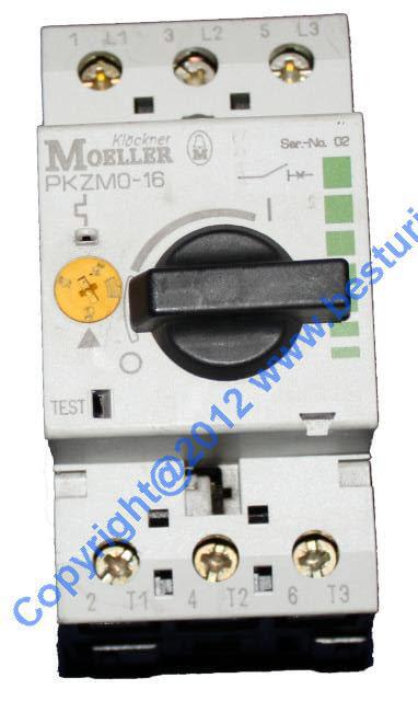 Moeller PKZM-1-6 Motor Protector 6 Amp  USED