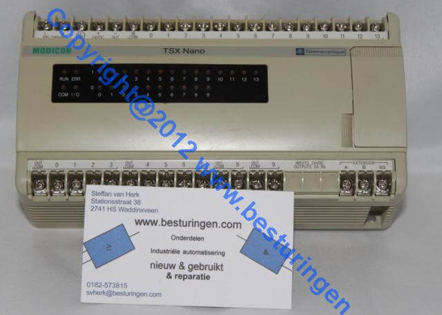 Modicon nano plc TSX 07 31 2428 (used)